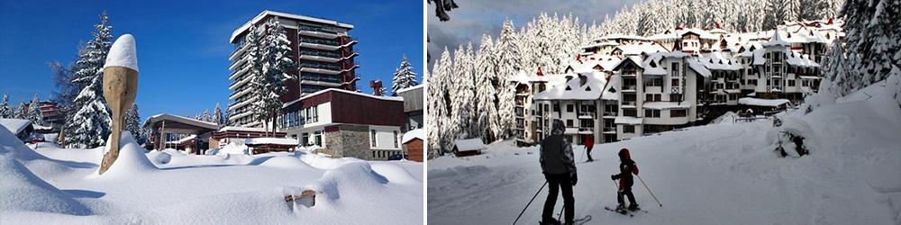 Знаменитый горнолыжный курорт Пампорово