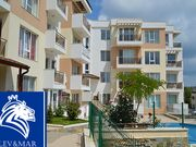 """ID458 Трехкомнатная квартира с фронтальным видом на море в комплексе """" Солита"""" в Бяла<br><span style=""""color: #2cbde1;"""">Бяла</span>"""