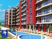 """ID43 Недорогая квартира - студия в комплексе"""" Global Ville """" в западной части курорта Солнечный берег<br><span style=""""color: #2cbde1;"""">Солнечный берег</span>"""
