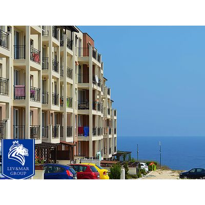 """ID460 Двухкомнатная квартира с видом на море в комплексе """" Фортуна Кейп 4""""  Бяла<br><span style=""""color: #2cbde1;"""">Бяла</span>"""