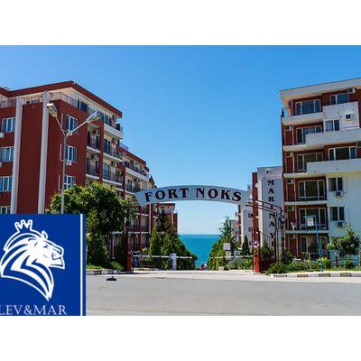 """ID449 Двухкомнатная квартира с видом на море в комплексе """" Марина Форт Бич """" в Святом Власе"""