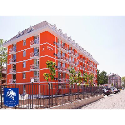 "ID464 Двухкомнатная двухуровневая квартира в комплексе "" Гербер Резиденс 3 "", Солнечный берег"