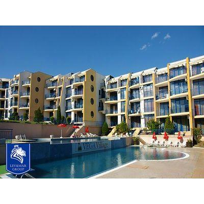 """ID519 Трехкомнатная квартира в 150 метрах от моря в комплексе """" Вега Вилидж """", Святой Влас"""