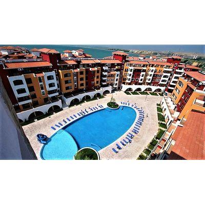 """ID699 Апартамент с одной спальней и видом на море в комплексе """" Марина Кейп """" Ахелой, Ахелой"""