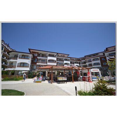 """ID780 Апартамент с одной спальней и видом на море в комплексе """" Робинзон Бич """" Елените<br><span style=""""color: #2cbde1;"""">Елените</span>"""