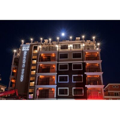 """ID803 Апартаменты на первой линии от моря в апарт - отеле """" Долфин Коаст """" Солнечный берег"""