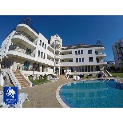 "ID16 Трехкомнатный апартамент с видом на море в жилом комплексе "" South Bay ""  Святой Влас, Святой Влас"