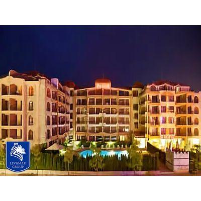 """ID39 Двухкомнатная квартира с видом на бассейн в комплексе"""" PACIFIK II """"  Солнечный берег, Солнечный берег"""