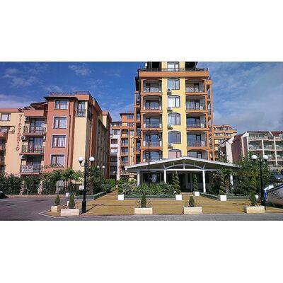 """ID902 Апартамент с одной спальней и видом на море в комплексе """" Викторио 2 """" Святой Влас"""