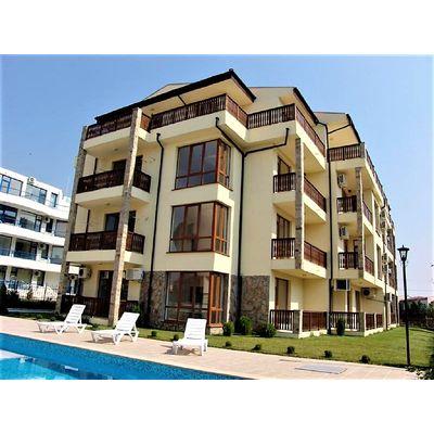 """ID991 Апартамент с одной спальней в комплексе на первой линии от моря """" Равда Бич """" Равда<br><span style=""""color: #2cbde1;"""">Равда</span>"""
