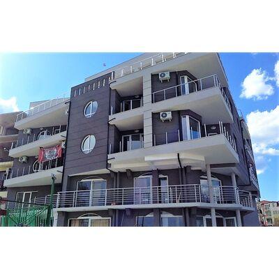 "ID992 Двухкомнатная квартира с видом на море в комплексе "" Атлантис Бич 2 "" Равда<br><span style=""color: #2cbde1;"">Равда</span>"