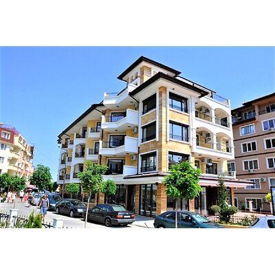 "ID1043 Апартамент с одной спальней и видом на море в комплексе "" Вилла Катлея "" Равда<br><span style=""color: #2cbde1;"">Равда</span>"