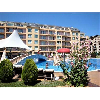 """ID1158 Апартамент с двумя спальнями в комплексе """" Поло Резорт """" Солнечный берег"""