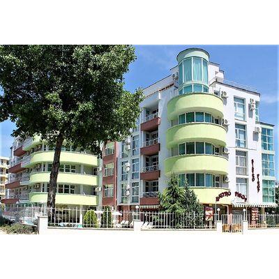 "ID1176 Апартаменты с двумя спальнями в комплексе "" Пироп Сити "" Солнечный берег<br><span style=""color: #2cbde1;"">Солнечный берег</span>"