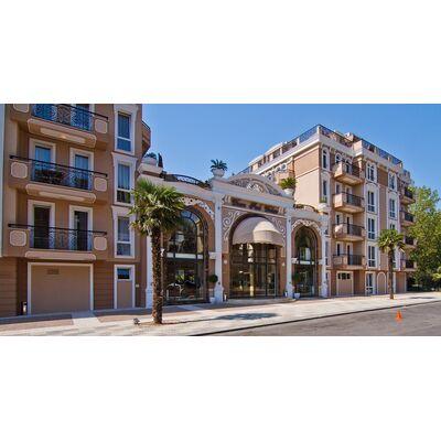 "ID1197 Апартамент с двумя спальнями в комплексе "" Дольче Вита 2 ""<br><span style=""color: #2cbde1;"">Святой Влас</span>"