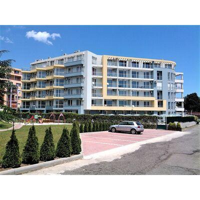 """ID1202 Двухкомнатный апартамент в комплексе """" Кристал Палас """" Несебр"""