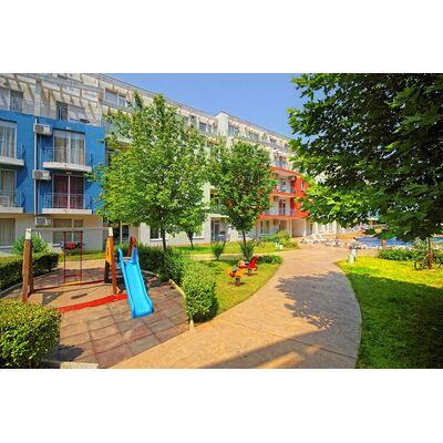 """ID1277 Апартамент с двумя спальнями в комплексе """" Санни Дэй 3 """" Солнечный берег"""