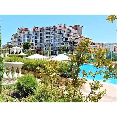 """ID1308 Двухкомнатная квартира с видом на море в комплексе """" Эстебан """" Несебр<br><span style=""""color: #2cbde1;"""">Несебр</span>"""