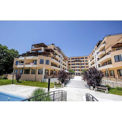 """ID1345 Апартамент с одной спальней и видом на море в комплексе """" Рич 2 """" Равда"""