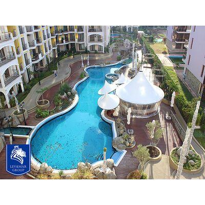 "ID79 Трехкомнатная квартира в комплексе"" Harmony Suites  - Monte Carlo "", Солнечный берег"