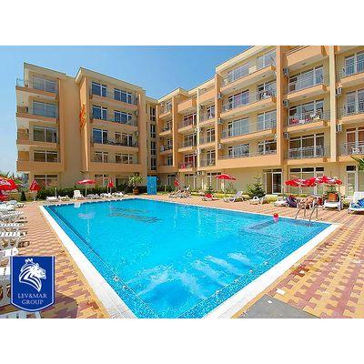 """ID89 Двухкомнатная квартира в апарт-комплексе"""" Kamelia Garden """"  Солнечный берег, Солнечный берег"""