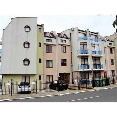 """ID1375 Двухкомнатная квартира с видом на море в комплексе """" Старфиш """"<br><span style=""""color: #2cbde1;"""">Святой Влас</span>"""