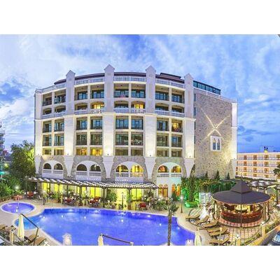 """ID1372 Двухкомнатная квартира с видом на море в комплексе """" Бабилон """" Солнечный берег"""