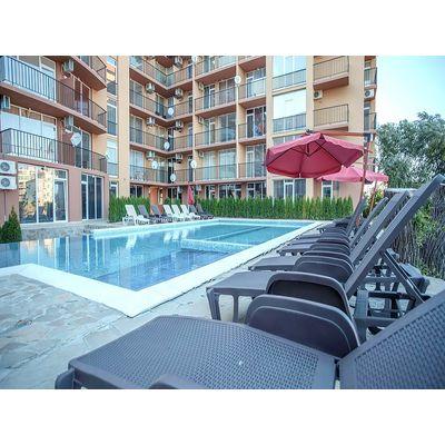 """ID1451 Небольшая двухкомнатная квартира в комплексе """" Санни Вью Саут """"<br><span style=""""color: #2cbde1;"""">Солнечный берег</span>"""