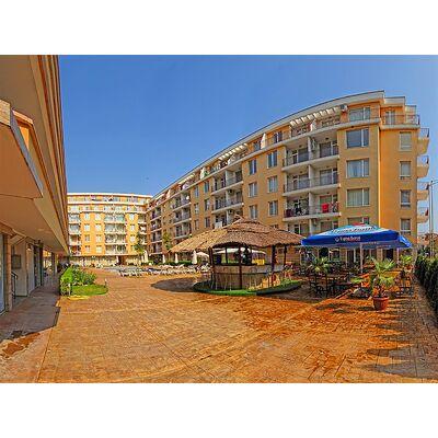 """ID1496 Апартамент с двумя спальнями в комплексе """" Санни Дэй 2 """"<br><span style=""""color: #2cbde1;"""">Солнечный берег</span>"""