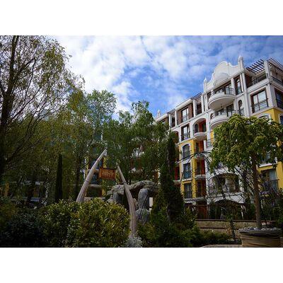 "ID67 Двухкомнатная квартира в комплексе "" Harmony Suites 3 ""<br><span style=""color: #2cbde1;"">Солнечный берег</span>"