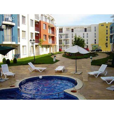 "ID1727 Двухкомнатная квартира в комплексе "" Санни Дэй 3 ""<br><span style=""color: #2cbde1;"">Солнечный берег</span>"