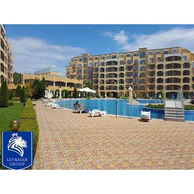 """ID240 Квартира - студия с панорамным видом на море в комплексе"""" Midia Grand Resort """"  Ахелой"""