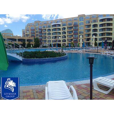 """ID239 Квартира - студия с панорамным видом на море в комплексе"""" Midia Grand Resort """"  Ахелой"""