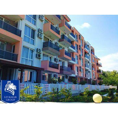 """ID300 Двухкомнатная квартира в комплексе """" Нелли 2 """" в Бяла<br><span style=""""color: #2cbde1;"""">Бяла</span>"""