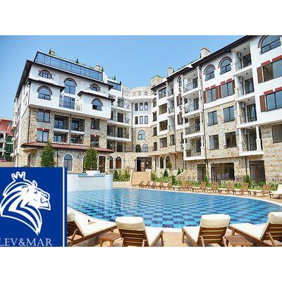 """ID347 Двухкомнатная квартира в видом на море в комплексе """" Артур """" Святой Влас"""