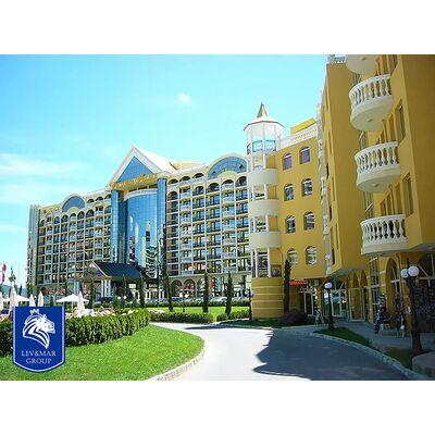"""ID356 Апартамент с одной спальней в 50 метрах от моря в комплексе"""" Виктория Резиденс """" Солнечный берег"""