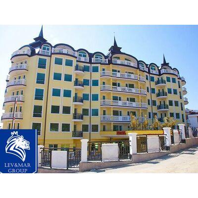 """ID348 Двухкомнатная квартира в 50 метрах от моря в комплексе """" Тальяна Бич """" в Елените"""
