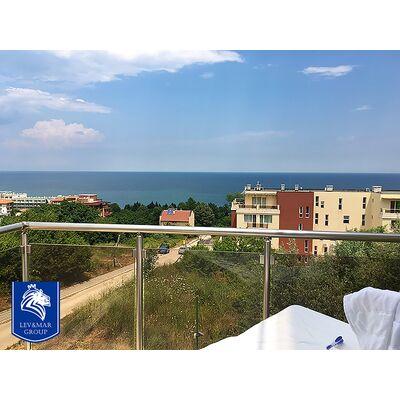 """ID375 Трехкомнатная квартира с видом на море в комплексе"""" Милана 2 """" в Бяла"""