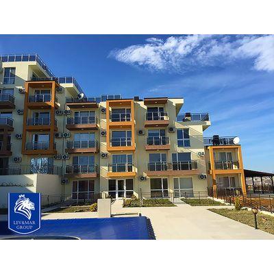 """ID373 Трехкомнатная квартира с видом на море в комплексе"""" Милана 3 """" в Бяла"""