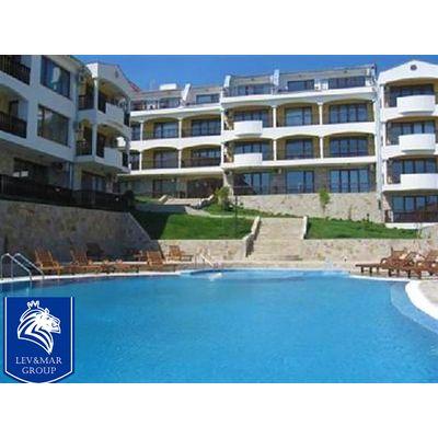 """ID120 Апартамент с 2 спальнями и видом на море в комплексе"""" Сан Коаст Виллас """" Святой Влас, Святой Влас"""