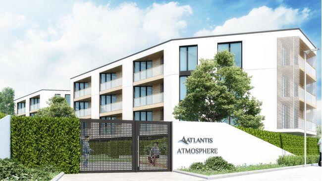 "ID694 Апартаменты в строящемся комплексе "" Атлантис Атмосфера "" Сарафово"