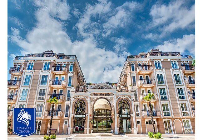 "ID578 Двухкомнатная квартира в комплексе "" Даун Парк Делюкс "", Солнечный берег"