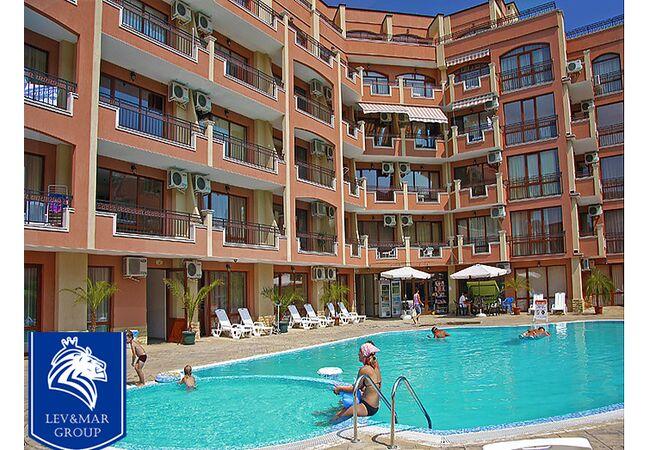 """ID13 Двухкомнатная квартира в  комплексе """" Antares complex """", Солнечный берег"""