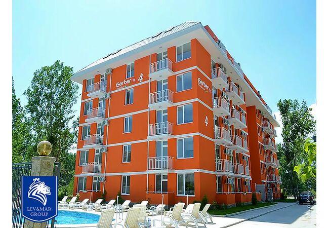 ID37 Двухкомнатная квартира в комплексе Gerber Residence 4, Солнечный берег