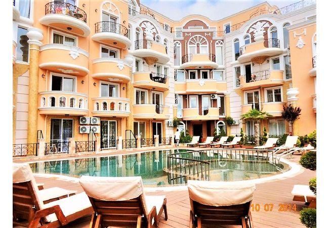 """ID982 Апартамент с одной спальней в комплексе """"Grand Mellia Resort  """", Равда"""