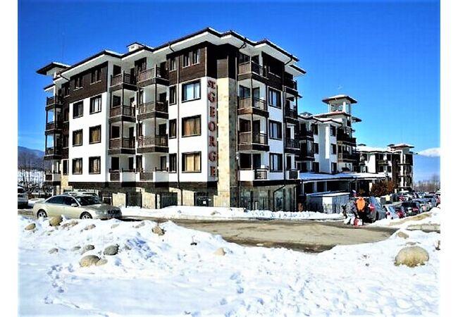 "ID971 Просторная двухкомнатная квартира в элитном комплексе "" St. George Ski & Spa "", Банско"
