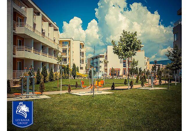 "ID85 Квартира - студия в комплексе"" Nessebar Fort Club "", Солнечный берег"