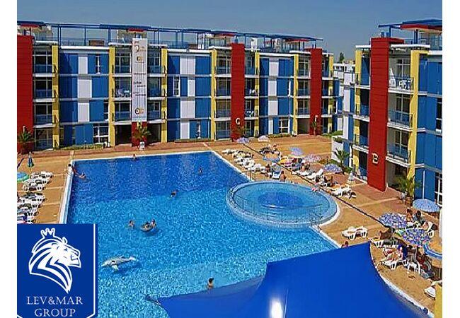 "ID202  Двухкомнатная квартира в комплексе "" Elit 4 "", Солнечный берег"