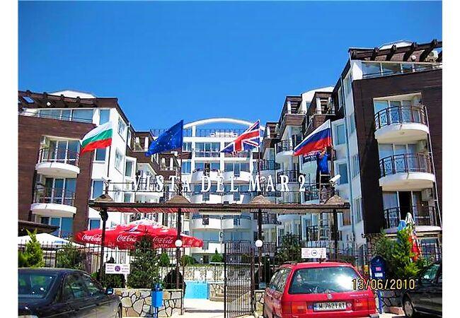 """ID765 Трехкомнатная квартира с видом на море в комплексе """" Виста дель Мар 2 """", Святой Влас"""