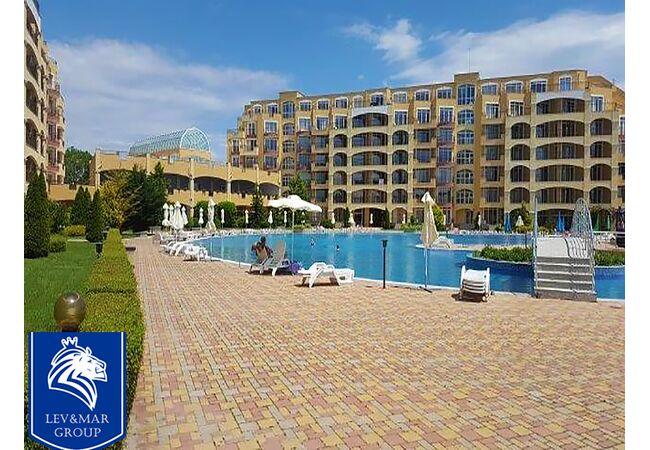 """ID240 Квартира - студия с панорамным видом на море в комплексе"""" Midia Grand Resort """"  Ахелой, Ахелой"""